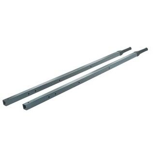 True Temper Steel Wheelbarrow Handle 60 in. L