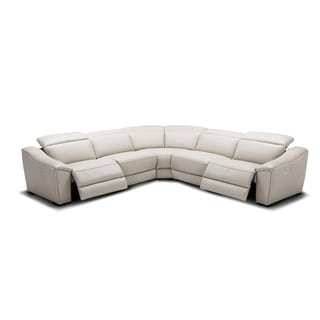 Nova Silver Grey Motion Sectional