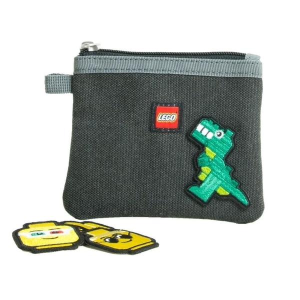 LEGO Patch Pouch (W/ 6 Assorted Patches)