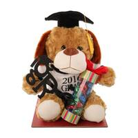 Graduation Dog with Treats