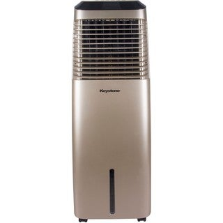 30-Liter Indoor Evaporative Air Cooler (Swamp Cooler) in Gold
