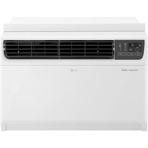 LG 14,000 BTU Dual Inverter Window Air Conditioner with Remote Control