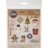 Sizzix THoltz Thinlits Die Mini Christmas Things