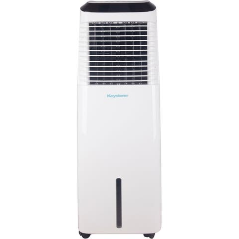 30-Liter Indoor Evaporative Air Cooler with WiFi Function in White
