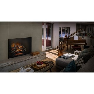 Napoleon Woodland 27-inch Electric Log Set Fireplace Insert with Remote Control