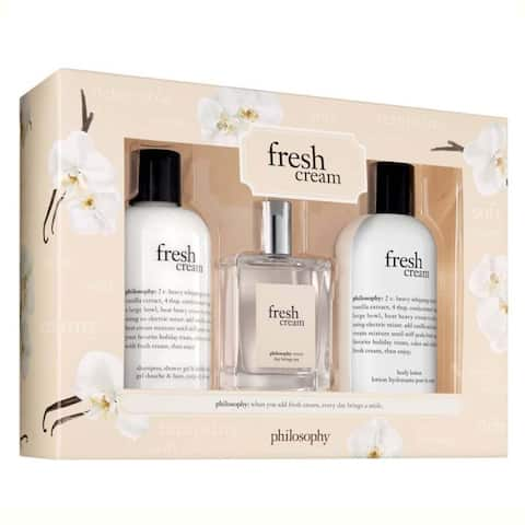 Philosophy Fresh Cream 3-piece Set
