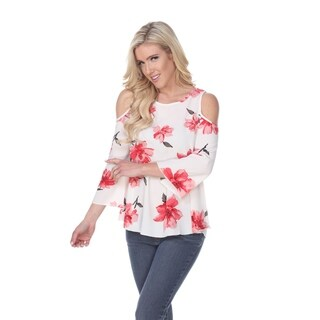 Lorain' Cold Shoulder Top