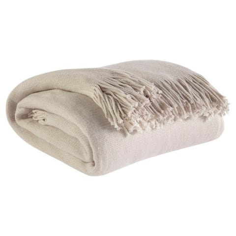 Haiden Throw in Taupe