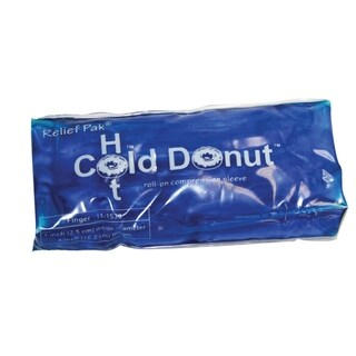 Relief Pak Cold n' Hot Donut Compression Sleeve finger