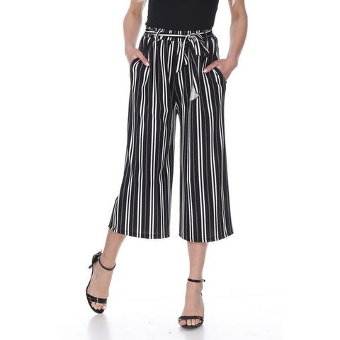 White Mark Women's Gaucho Pants