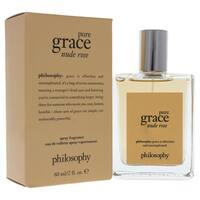 Philosophy Pure Grace Nude Rose Women's 2-ounce Eau de Toilette Spray