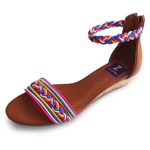 Zee Alexis Womens Felicity Sandals Fuchsia Multi