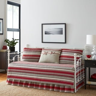 Stone Cottage Fresno Red Daybed Set
