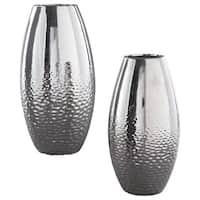 Signature Design by Ashley Dinesh Set of 2 Vases