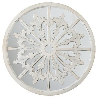 Emlen Accent Mirror - Antique White