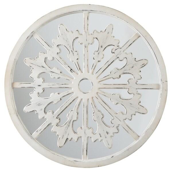 Emlen Accent Mirror - Antique White