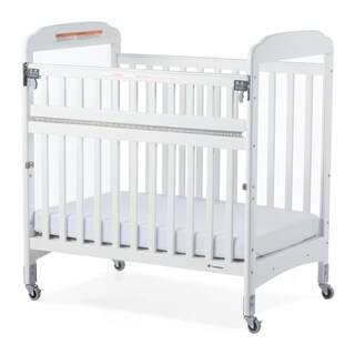 Next Gen Serenity SafeReach Compact Clearview Crib - White