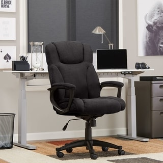 Serta Style Hannah II Office Chair, Microfiber