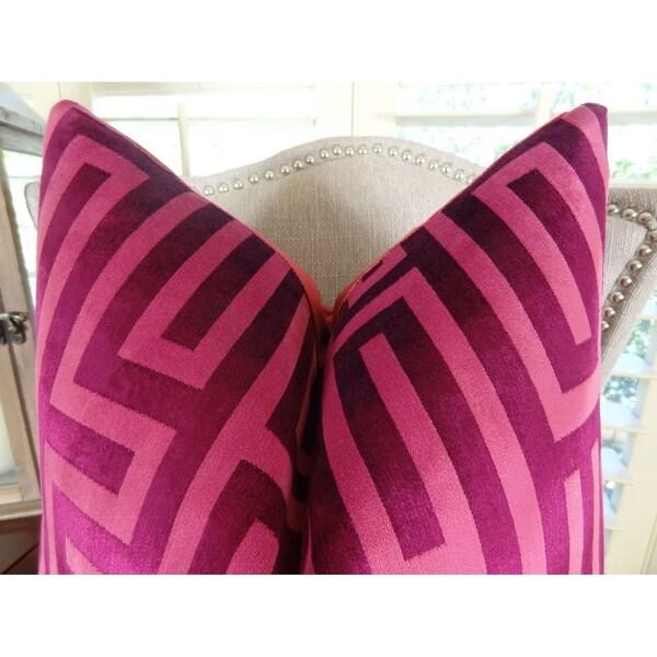 Thomas Collection Decorative Pillow Sofa B, Handmade in USA, 11193D