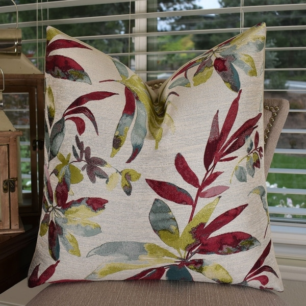 Shop Thomas Collection Floral Fuchsia Blue Citrine Taupe