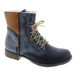 Women's Rieker-Antistress Payton 05 Ankle Boot Navy/Ozean/Brandy/Wine Synthetic