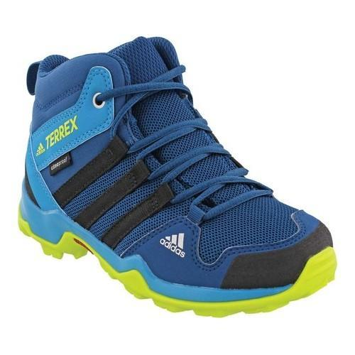 ae3d13ee4acc Children  x27 s adidas Terrex AX 2.0 R Mid Climaproof Hiking Shoe Blue Night