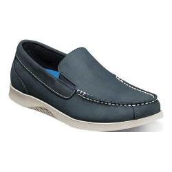 Men's Nunn Bush Bayside Lites Venetian Slip On Navy/Brown Leather (More options available)