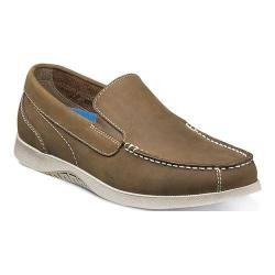 Men's Nunn Bush Bayside Lites Venetian Slip On Tan Leather