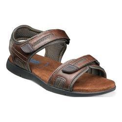 Men's Nunn Bush Rio Grande Two Strap River Sandal Tan Faux Leather (More options available)