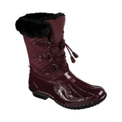 Women's Skechers Hampshire Manchester Duck Boot Burgundy