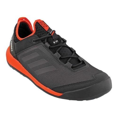 2a75dea2a Shop Men s adidas Terrex Swift Solo Hiking Shoe Black Black Energy - Free  Shipping Today - Overstock - 18230290