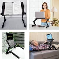 FCD Laptop Table for Bed Notebook eBook Reading Tablet Foldable