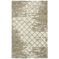 Rizzy Home Idyllic Hand-Tufted 5' x 8' Rectangle Rug, Natural
