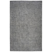 Rizzy Home Brindleton Hand-Tufted 5' x 8' Rectangle Rug, Black