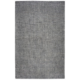 Rizzy Home Brindleton Hand-Tufted 3' x 5' Rectangle Rug, Black