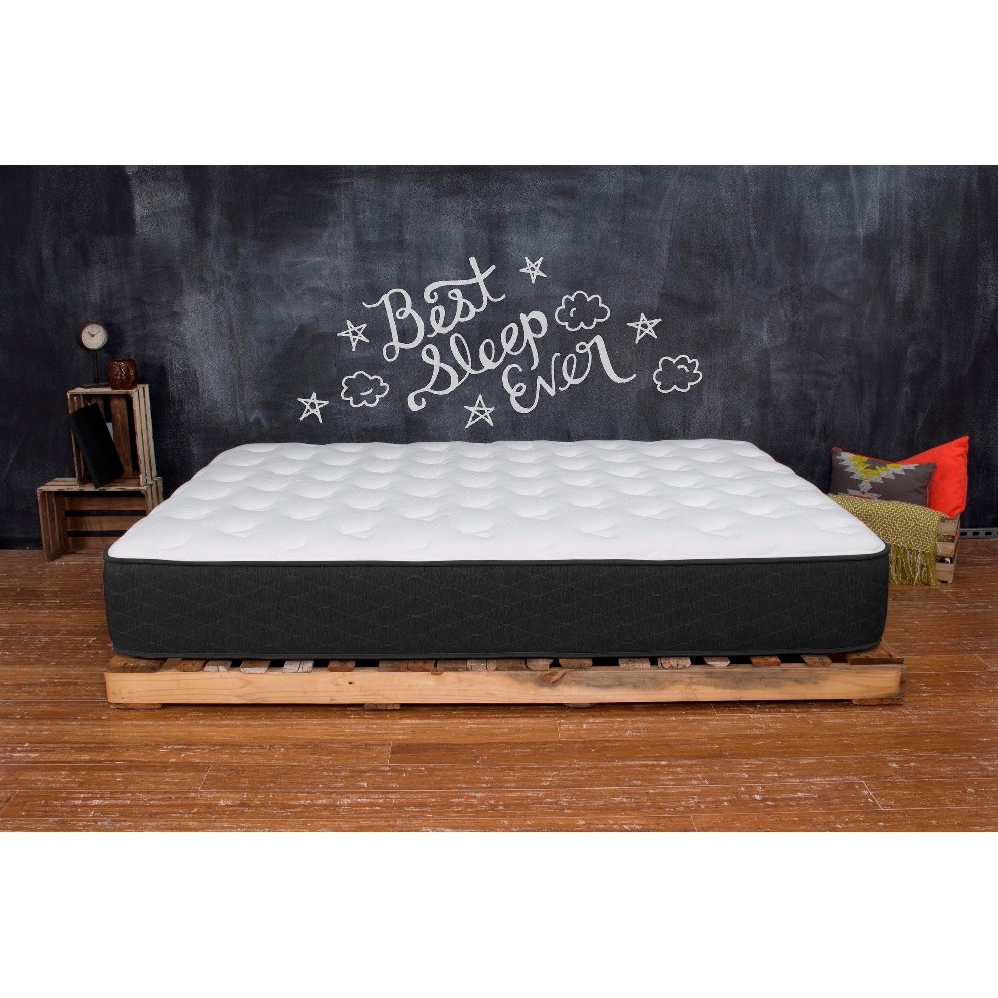 Shop Best Innerspring Mattress 10 Twin Xl Mattress Medium Firm Sleep Bed In A Box Overstock 20900925