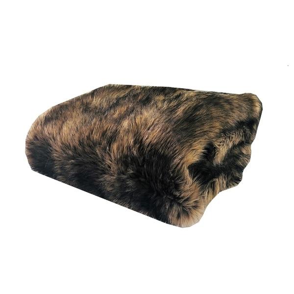 Plutus Mountain Coyote Handmade Luxury Blanket