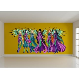 """Anime Fairy Full Color Wall Decal Sticker K-337 FRST Size 40""""x80"""""""