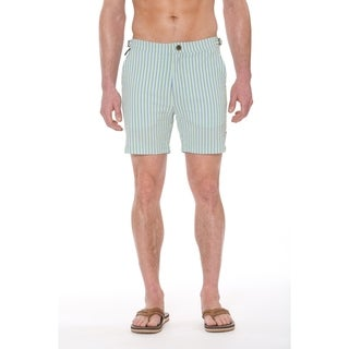 "Bogart and Tracy Brando 17"" Length Slim Fit Swim Trunks"