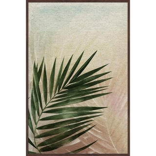 Marmont Hill - Handmade Vintage Greenery Floater Framed Print on Canvas