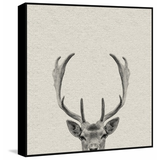 Marmont Hill - Handmade Buck Surprise Floater Framed Print on Canvas
