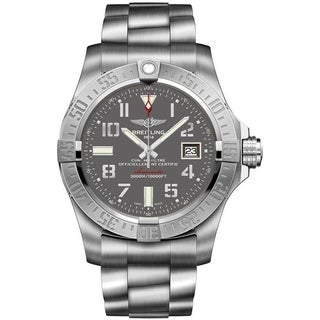 Breitling Men's A1733110-F563-169A 'Avenger II Seawolf' Automatic Stainless Steel Watch