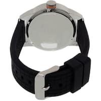 Hugo Boss Men's 1513305 'Orange Tokyo' Multi-Function Black Silicone Watch