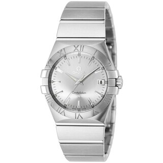 Omega Men's 123.10.35.60.02.001 'Constellation 09' Stainless Steel Watch