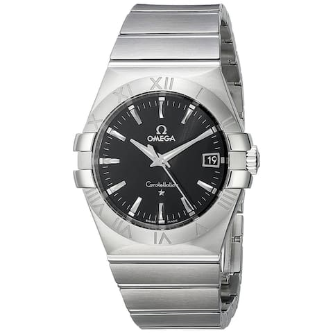 Omega Men's 'Constellation9' Stainless Steel Watch