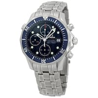Omega Men's  'Seamaster James Bond' Chronograph Automatic Stainless Steel Watch