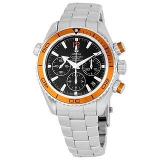 Omega Men's 222.30.38.50.01.002 'Seamaster Planet Ocean' Chronograph Automatic Stainless Steel Watch