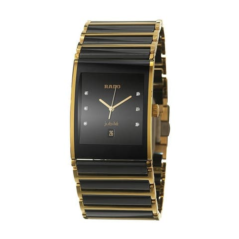 9d57c14ff9d Rado Men s R20862752  Integral  Diamond Two-Tone Stainless steel and ...