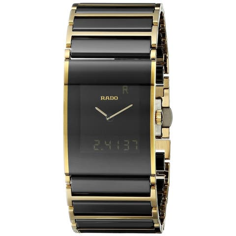 e1723f401 Rado Men's R20799152 'Integral' Analog-Digital Two-Tone Stainless steel and  Ceramic