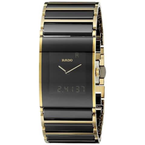 Rado Men's R20799152 'Integral' Analog-Digital Two-Tone Stainless steel and Ceramic Watch